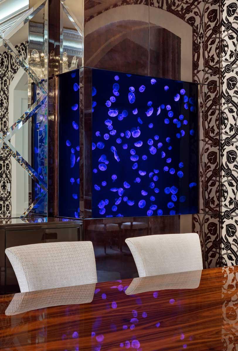 Twin 200 Gallon Custom Jellyfish Aquariums